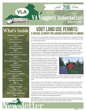 VLA Fall Newsletter