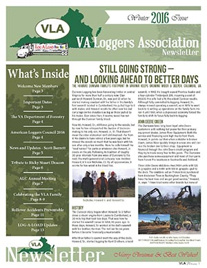 VLA Winter 2016 Newsletter