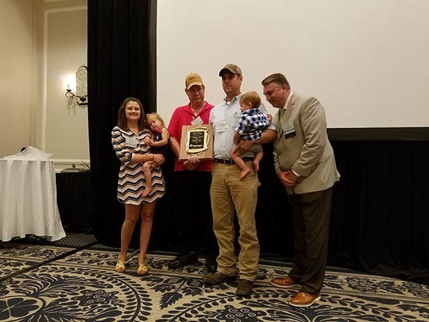 2018 Highlight: Presentation of the 2018 E. K. Pittman Logger of the Year Award