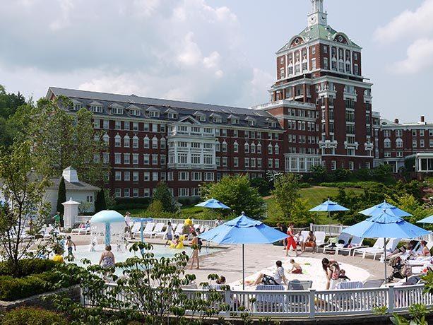 Enjoy the Homestead Resort Pool!