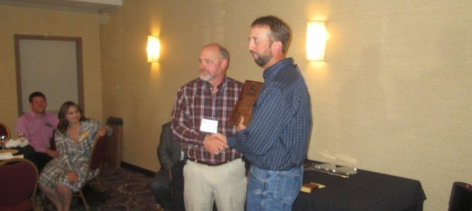 Frank Myers Receives American Loggers Council Award