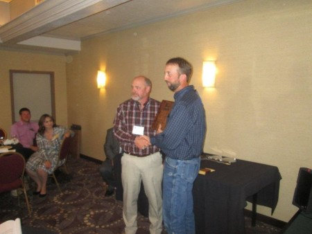 Frank Myers 2015 National Logger Activist Award