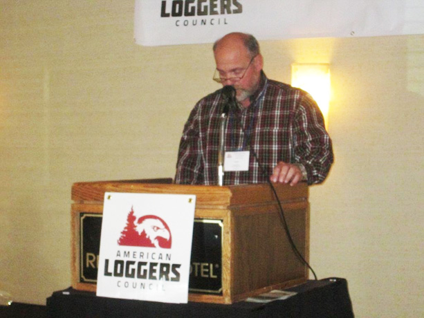 Frank Myers Receives 2015 National Logger Activist Award