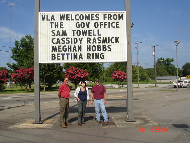 VLA Hosts 2015 Secretary of Agriculture & Forestry for Field Day