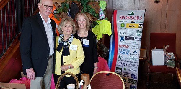 Ron & Nannette Jenkins with Friend and Fantastic Volunteer Rita Hyatt