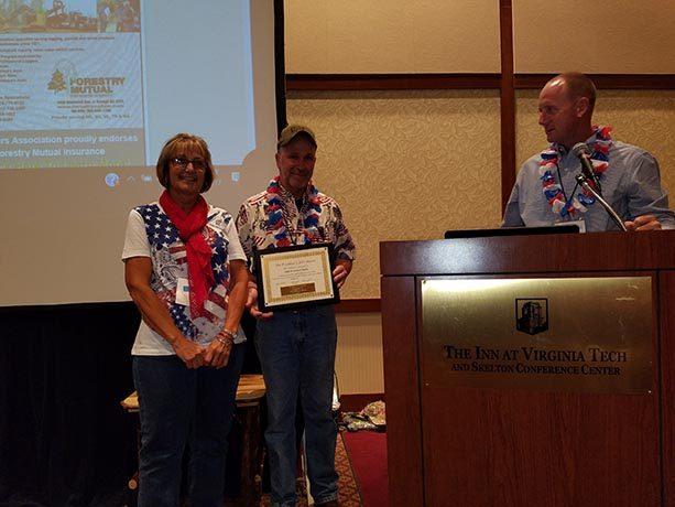 Vance Wright Awards the President's Award